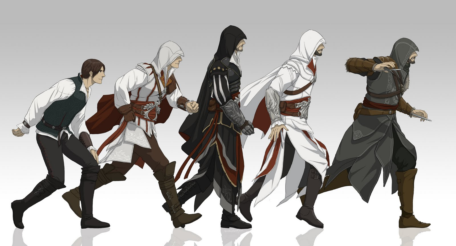evolution_of_ezio_by_doubleleaf-d3icnak.jpg