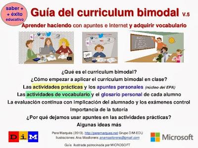 http://es.slideshare.net/peremarques/desarrollo-curricular-bimodal