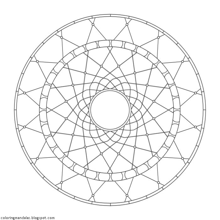 Coloring Mandalas 27 Dreamcatcher