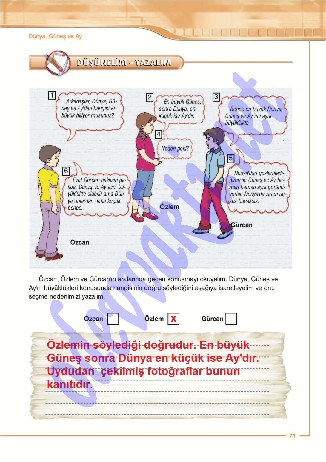 Sınıf fen ve teknoloji calışma kitabı cevapları 5 sınıf fen ve
