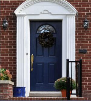 Fotos y dise os de puertas julio 2012 for Colores para puertas exteriores