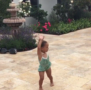 Riley Curry Whip and Nae Nae Celebrating Her 3rd Birthday