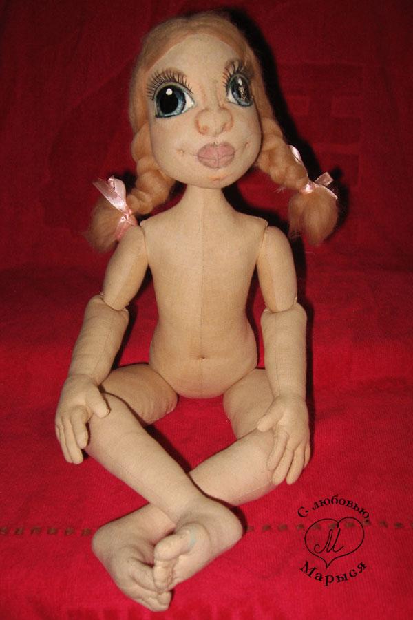 Куклы своими руками мастер класс текстильная шарнирная кукла