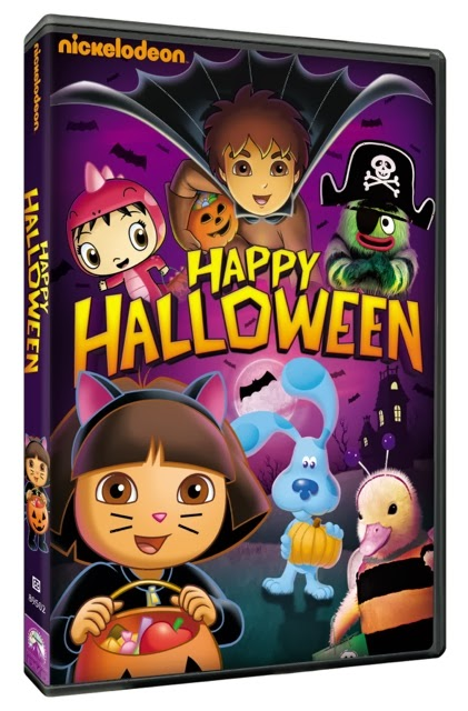 Nickelodeon Halloween DVD Prize Pack Giveaway