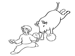Bull Coloring Pages Printable Realistic