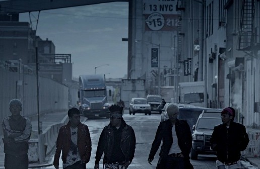 Big Bang Blue mv