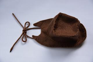 applejack chapéu feltro molde