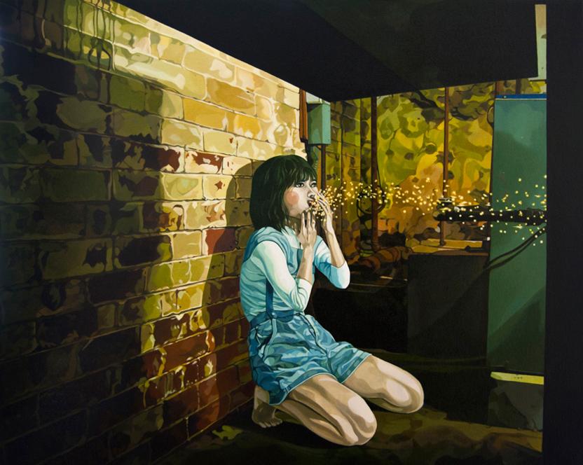 nuncalosabre.Pintura. Painting - ©Jolene Lai