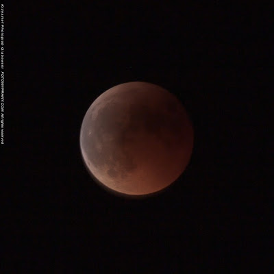 Całkowite zaćmienie księżyca - faza I