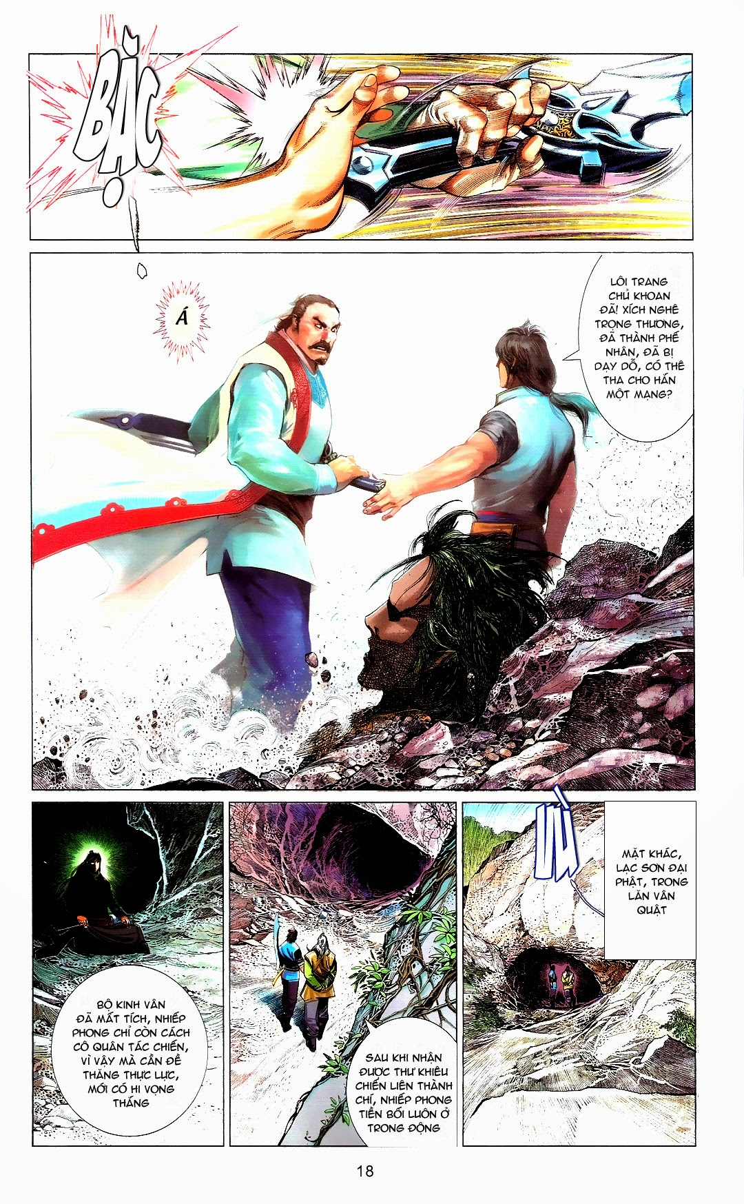 Phong Vân chap 666 Trang 18 - Mangak.info