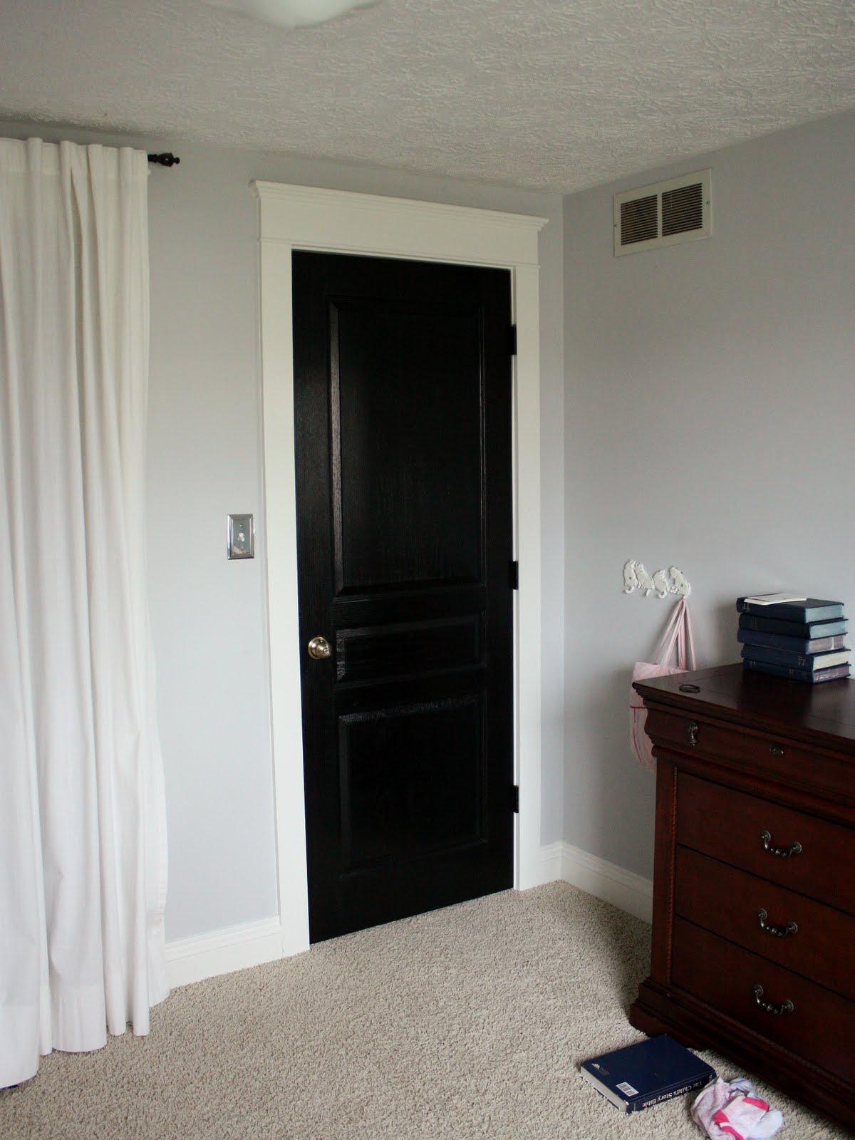 Black interior doors with white trim - Black Interior Doors With White Trim 10