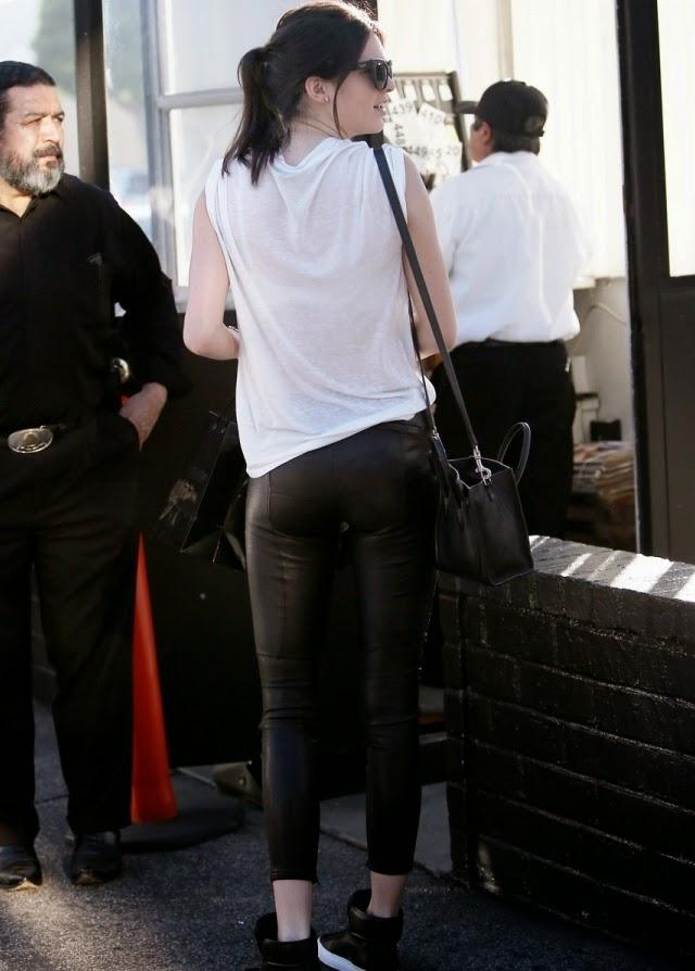 Trasero de Kendall Jenner en Beverly Hills