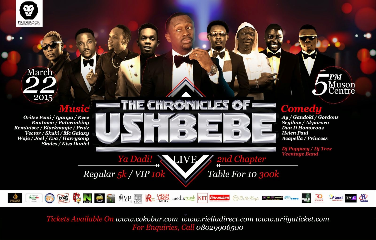 The Chronicles of Ushbebe Live