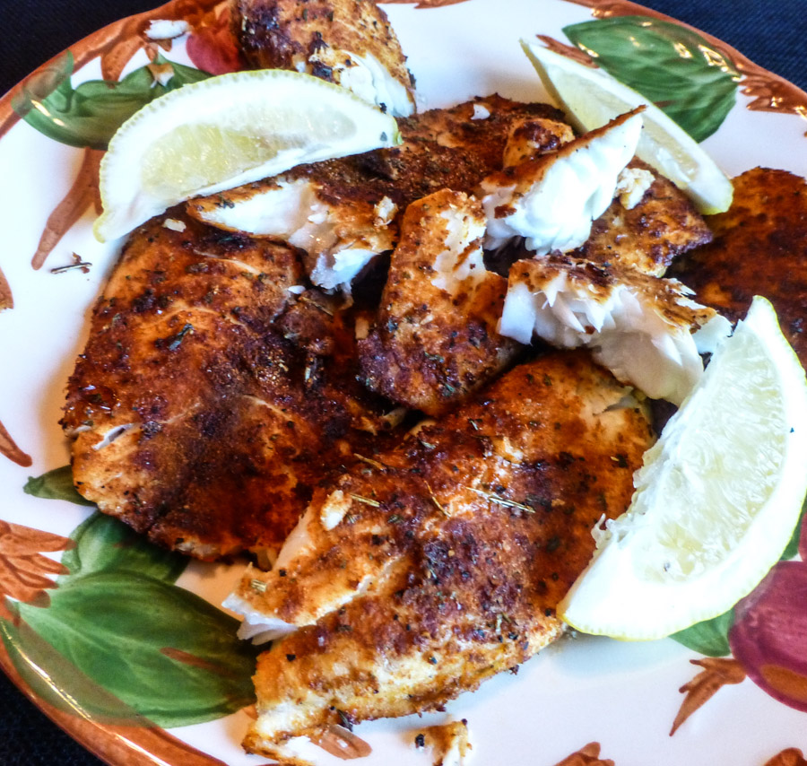 This rub was exactly what the tilapia was beggingfor:
