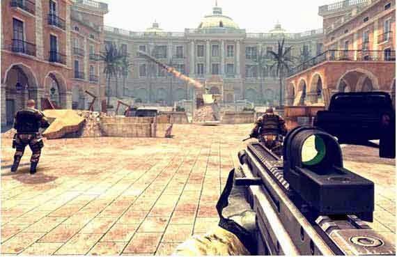 Best shooting games Modern combat 4