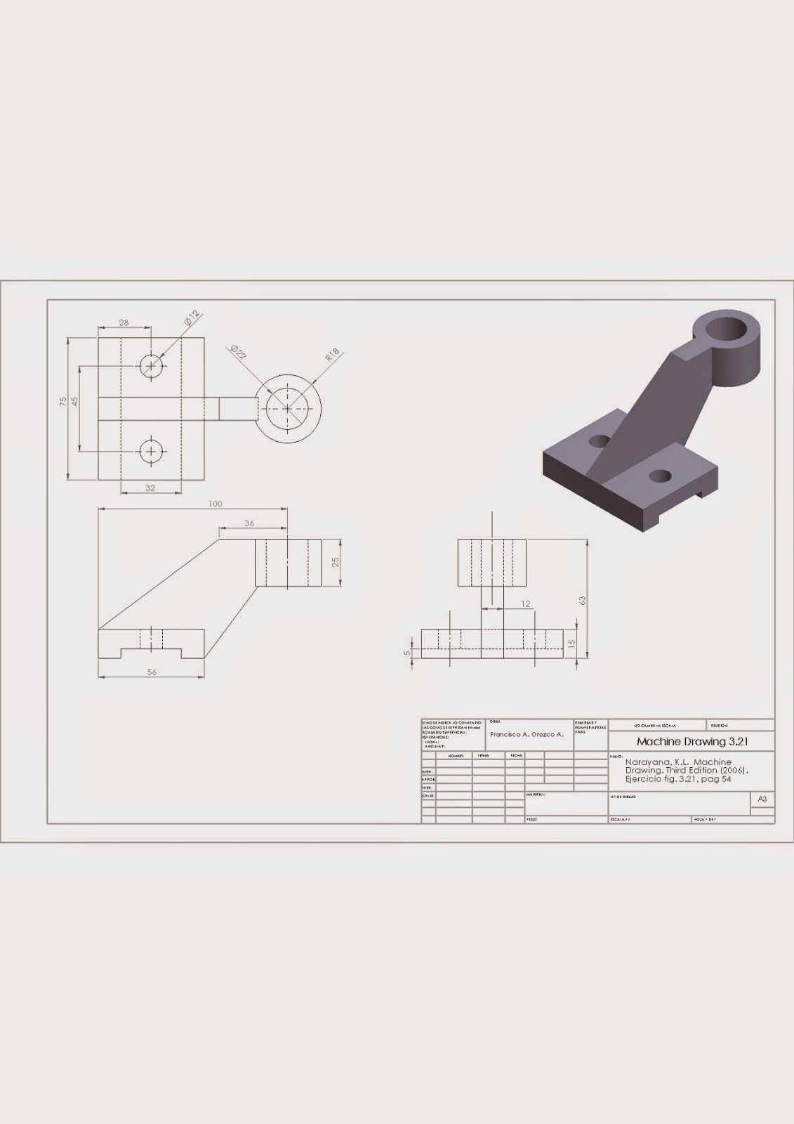 machine drawing by kl narayana pdf