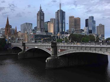 Melbourne Vic, Yarra River.