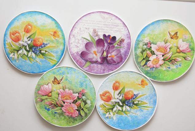 Подставка для тарелки своими руками фото