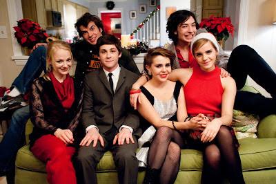 Escena de la película Las ventajas de ser un marginado, con Emma Watson, Logan Lerman y Ezra Miller. LA TAQUILLA. Making Of