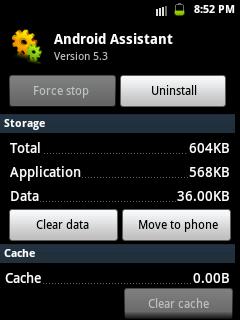 clear app data