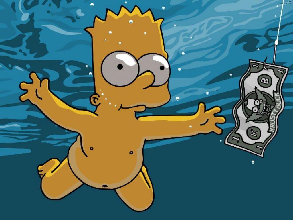 Bart nadando