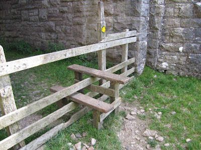 Stile, Under the Train Tracks – South of Kirby Stephen Rail Station