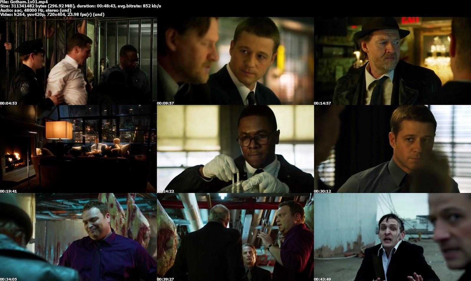 Gotham 1x01 2014 mega descargas Gotham temporada 3 espanol