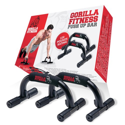 Gorilla Fitness Push Up Bar Package
