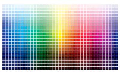 Memilih warna sesuai konsep