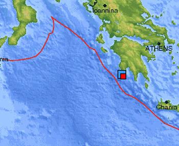 Sismo Grecia 16 de Abril de 2012
