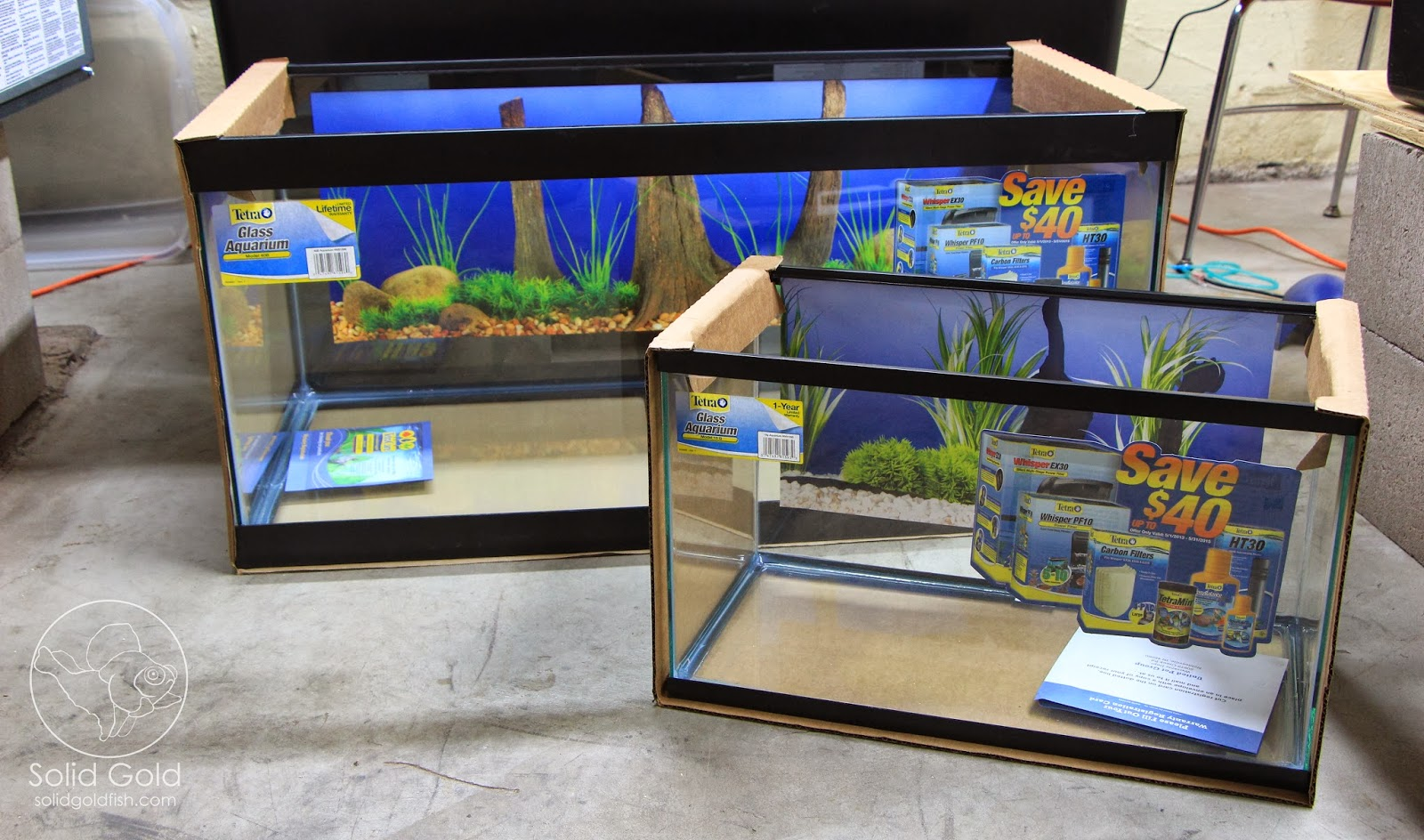 Petco will be having their dollar per gallon fish tank for Petco fish tank sale