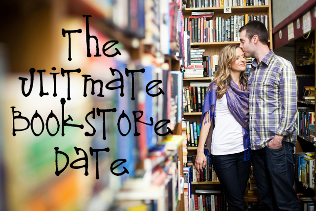 bookstore date idea, bookstore scavenger hunt, cheap date idea, book search