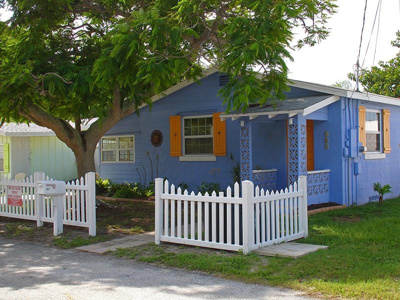 Photo d'une maison de location sur l'île d'Anna Maria en Floride