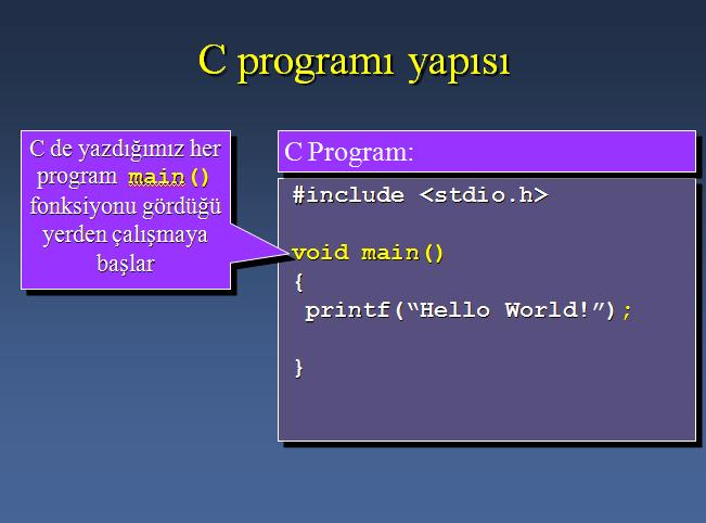 Home c programlama c programlama dersleri c programlama dersleri 1