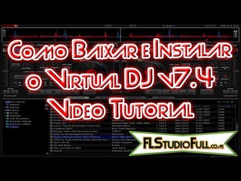 Como Baixar e Instalar o Virtual DJ v7.4 - FLStudioFull.com