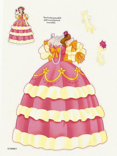 Miss Missy Paper Dolls Foreign Disney Princess Paper Dolls Princess Paper
