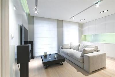 Desain Interior Minimalis Serba Putih 1