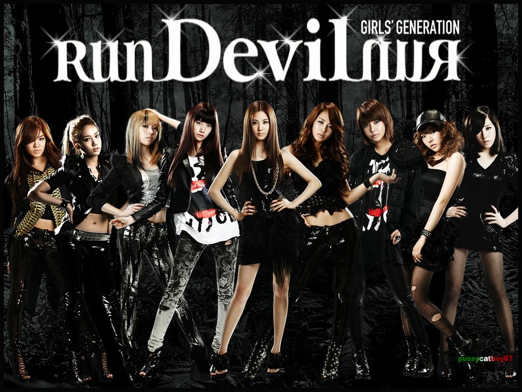 Yuri snsd run devil run
