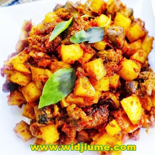 Resep Masakan dan Cara Membuat Sambal Goreng Kentang Hati