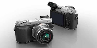 retro camera, Panasonic Lumix DMC GX7, mirrorless digital camera, new panasonic lumix