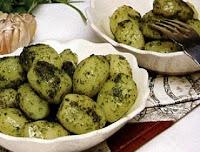Batatas Salteadas com Molho Verde