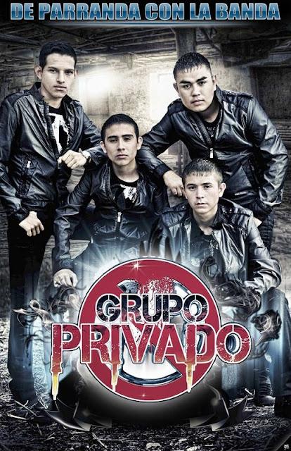 Grupo Privado - De Parranda Con La Banda (Album 2012)