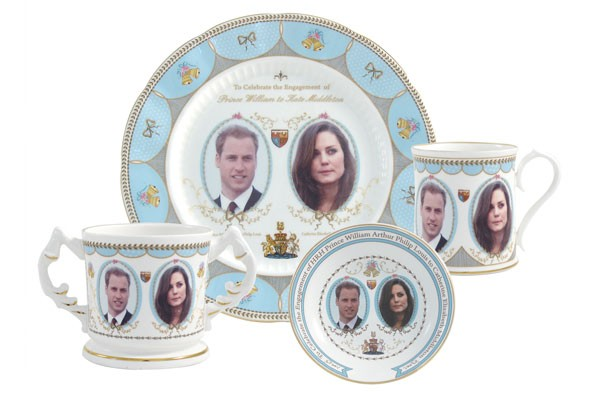 royal wedding souveniers