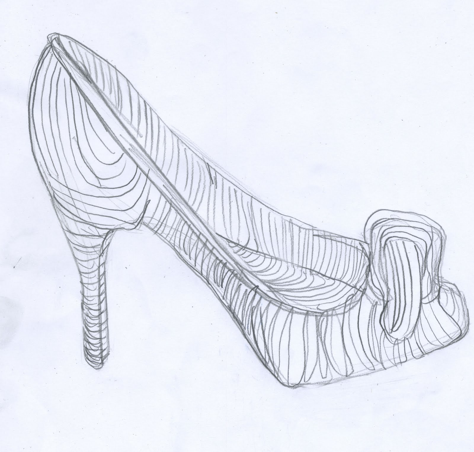 Contour Line Drawing Of Shoes : Design thinking and making post my favorite fancy