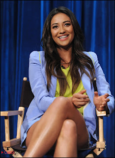 "Shay Mitchell Pictures at ""Pretty Little Liars"" Panel in Hollywood ~ Celebs Next"