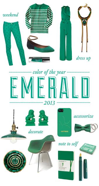 Emerald - Màu sắc của năm 2013 - CayPhaLe.com