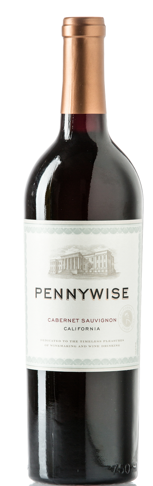 bottle of Pennywise Cabernet Sauvignon