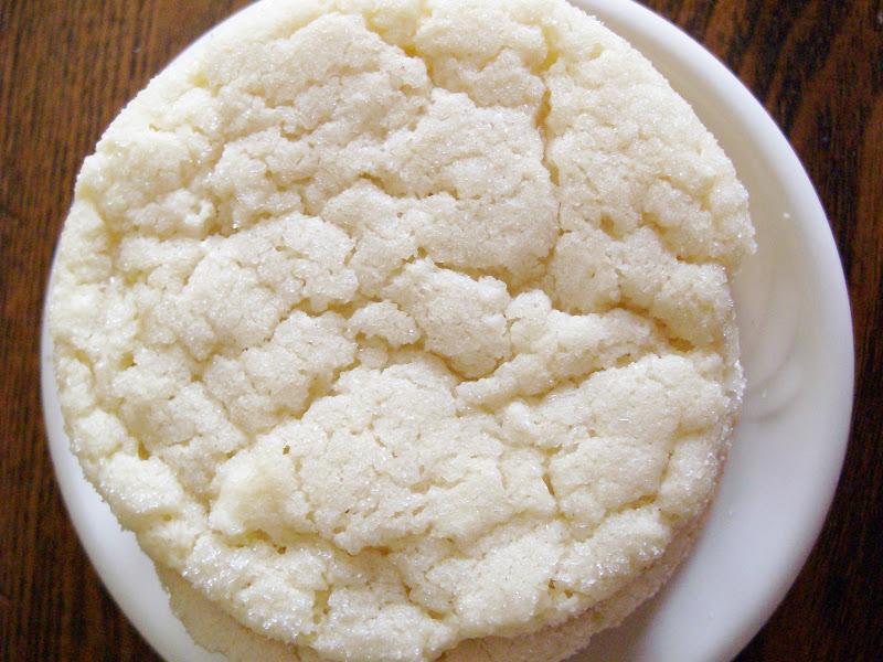 The Foodie RD: Chewy Sugar Cookies