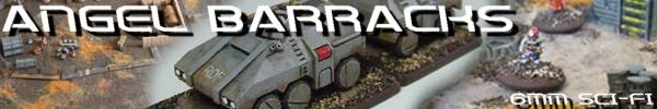 6mm Sci-Fi Miniatures & Scenery