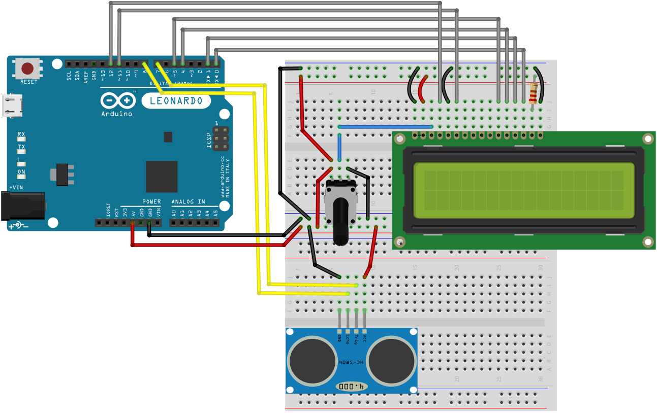 Arduino Pressure Sensor FSR With LCD Display: 5 Steps